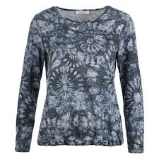 Sweater cirkel bloem