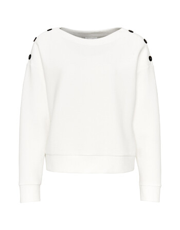 Sweater met knopen