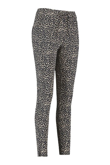 Broek met print model 'downstairs